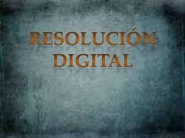 ¿Qué es resolución en fotografía digital?